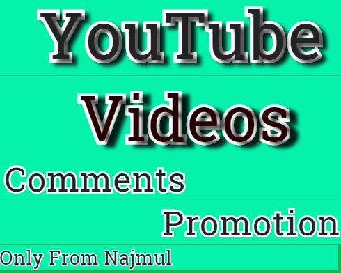 I Will Manually Do videos Promotion