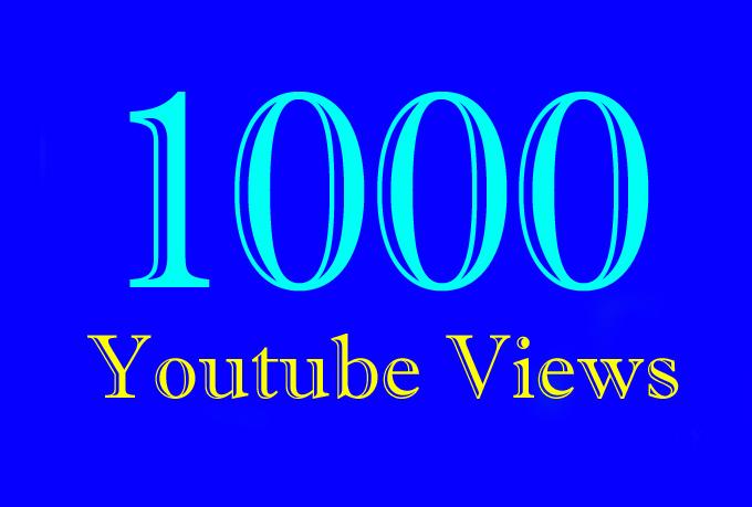 1,000 or 1000 or 1K YouTube Views with extra gig 2k 3k 4k 5k 6k 7k 8k 9k 10K 15K 20K 25K 40K 50K 100K Or 2000 3000 4000 5000 6000 7000 8000 9000 10000 20000 30000 40000 200K 500K 1 Million