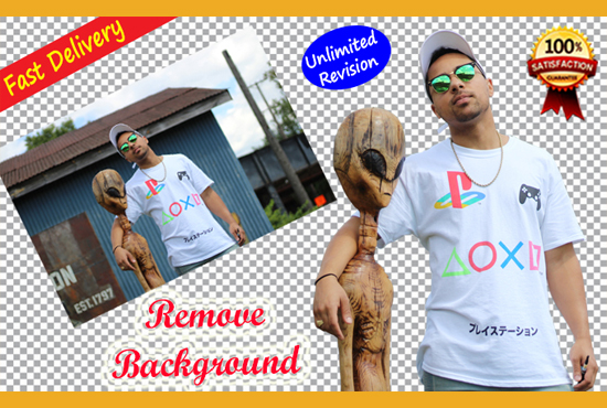 Remove background super fast of your image