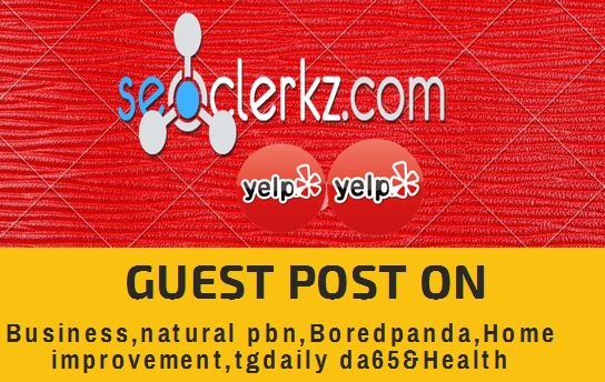 do publish a guest post on business and tech sites