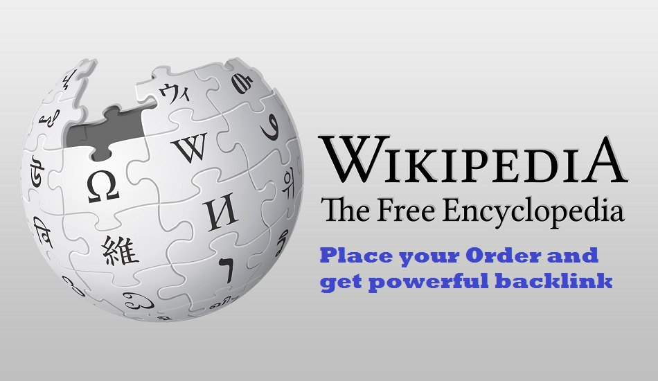 Create Niche Relevant Wikipedia Backlink For Your Website