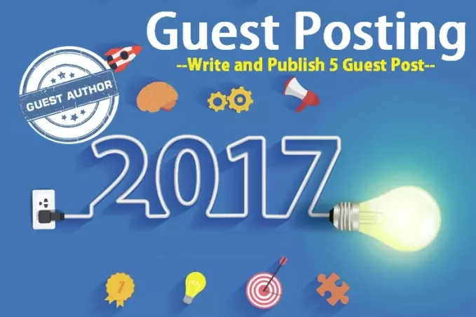 Do 6 Guest Post On High Quality Website