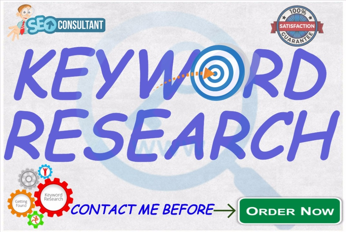 professionally Run In Depth Keyword Research Manually