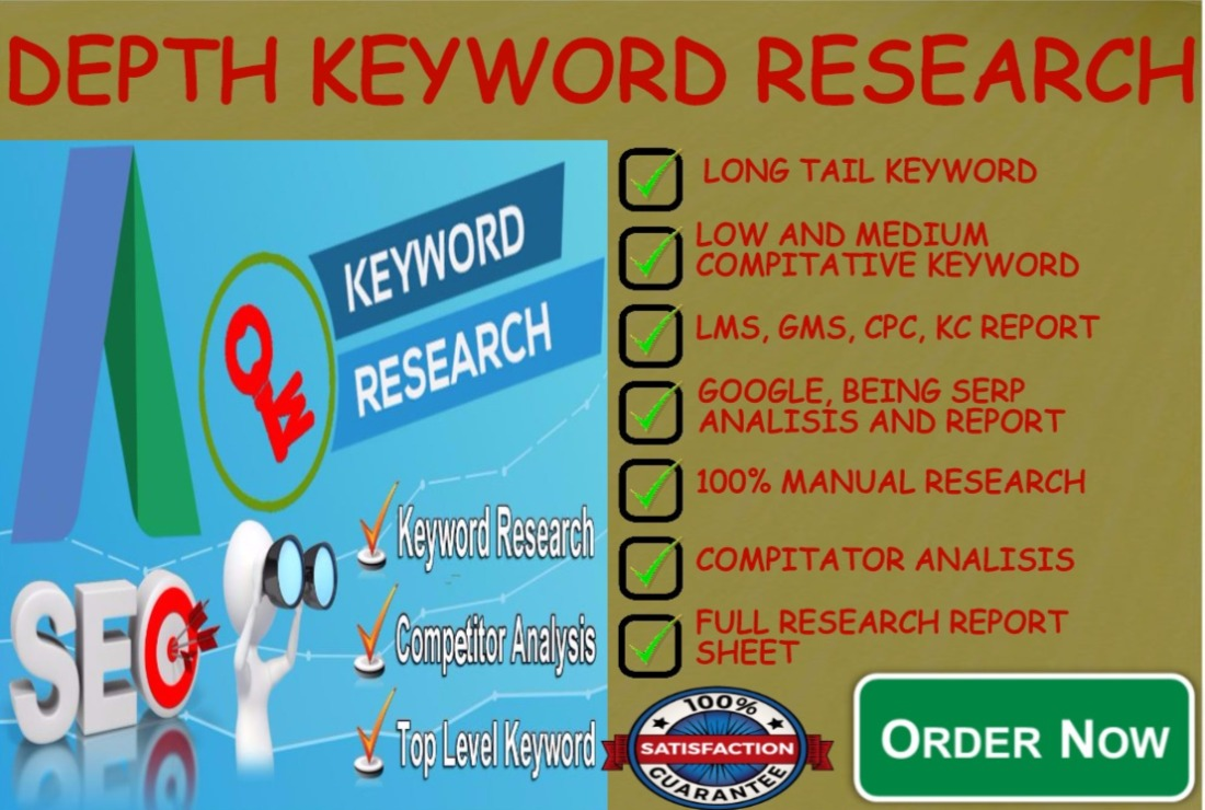 Do Keywords Research In Depth