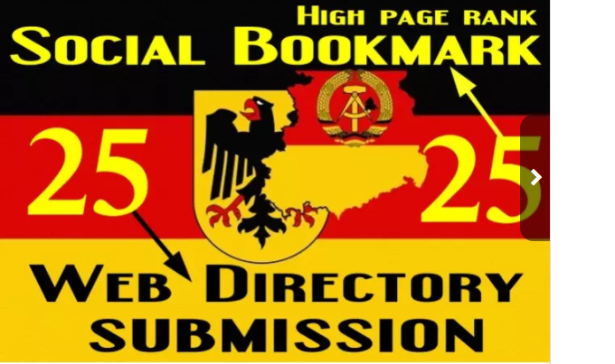 twenty five German Social Bookmarking And twenty five German Web Directory