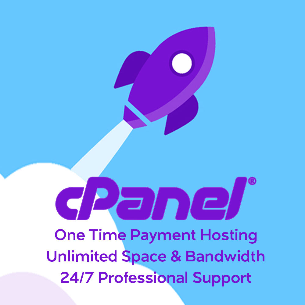 Unlimited cPanel Web Hosting only $4.99 for 1 Year