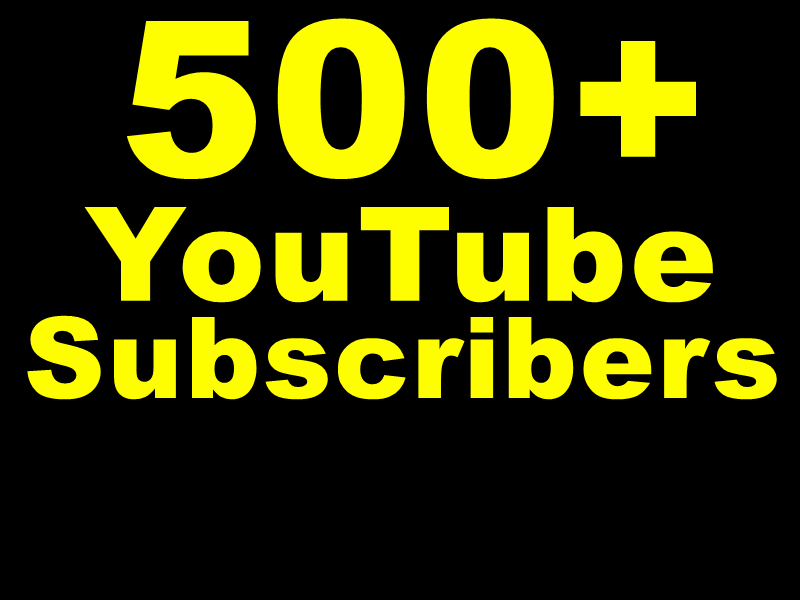 Get 10000+ YouTube Vieews or 1000+ You+Tube Likes Or 500+ You+Tube Subscribers Actual Physically Added