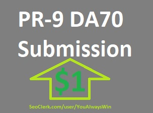 3 pr-9 DA Domain Authority 70+ Submission High PA DA Sites and Rank Higher on Search Engines