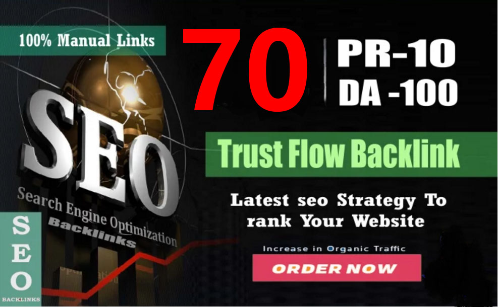 Boost Your Google Ranking Fast With 70 High PR Backlinks create for your Site