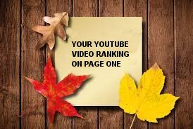 Will Any Youtube Video On Page One