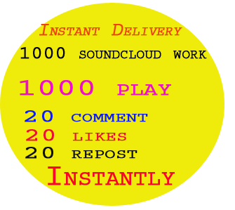300 likes or followers or 50+ USA Real Custom Soundcloud Comments to your track