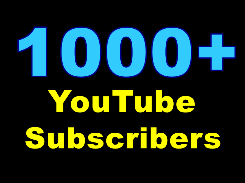 Catch 10000-15000+ Non-Drop You+Tube Views Or + 1000+ You+Tube Subscribers low-priced used