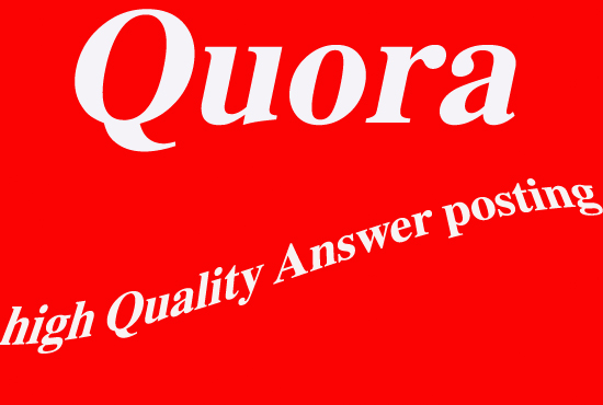 Rank your website Google 1st page with my 50 quora answer. Dream will come true