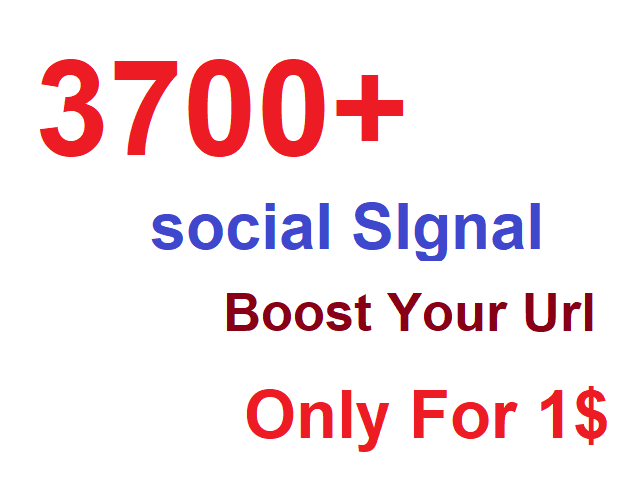 3700+ most Affective and Permanent High quality HQ PR social signal to boost you Link