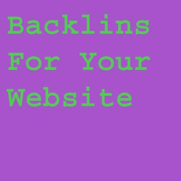 Give you High Quality 40 Backlinks for your site