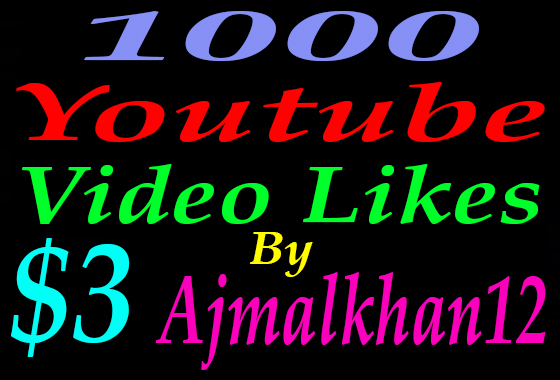 Get 1000 Real YouTube L ikes Super Instant