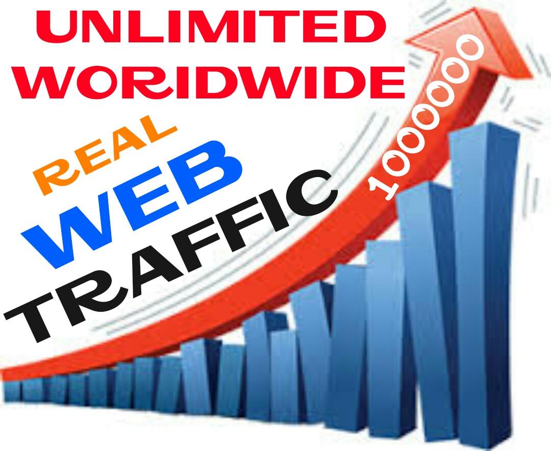 Drive 10000+ Worldwide Real Human Web Traffic