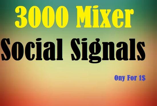3000 Mixer Social Signals