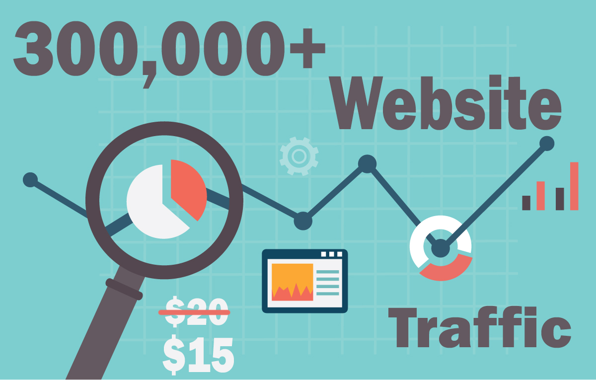 300,000+ keyword targeted traffic from google