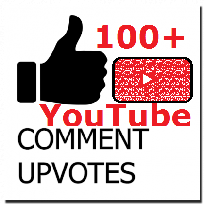 Add Instant 100+ YouTub Comments Upvotes