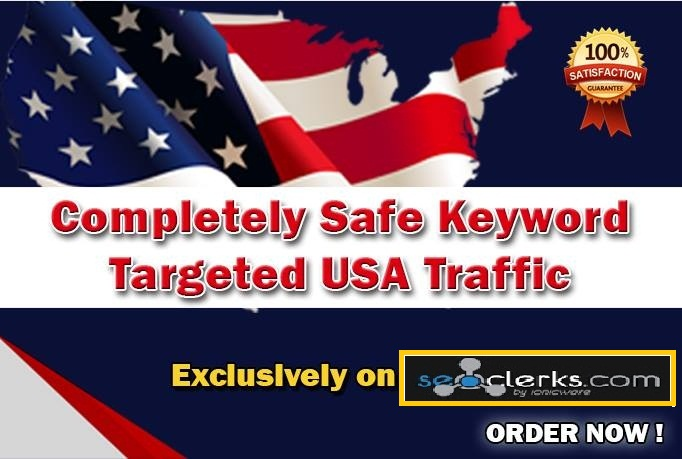 Drive 15,000 Completely Safe Keyword Targeted USA Traffic