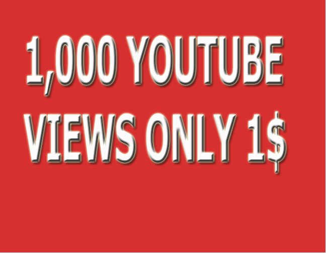I provide 1,000+ HR YouTube Views Non Drop Refill Guaranteed and very fast just
