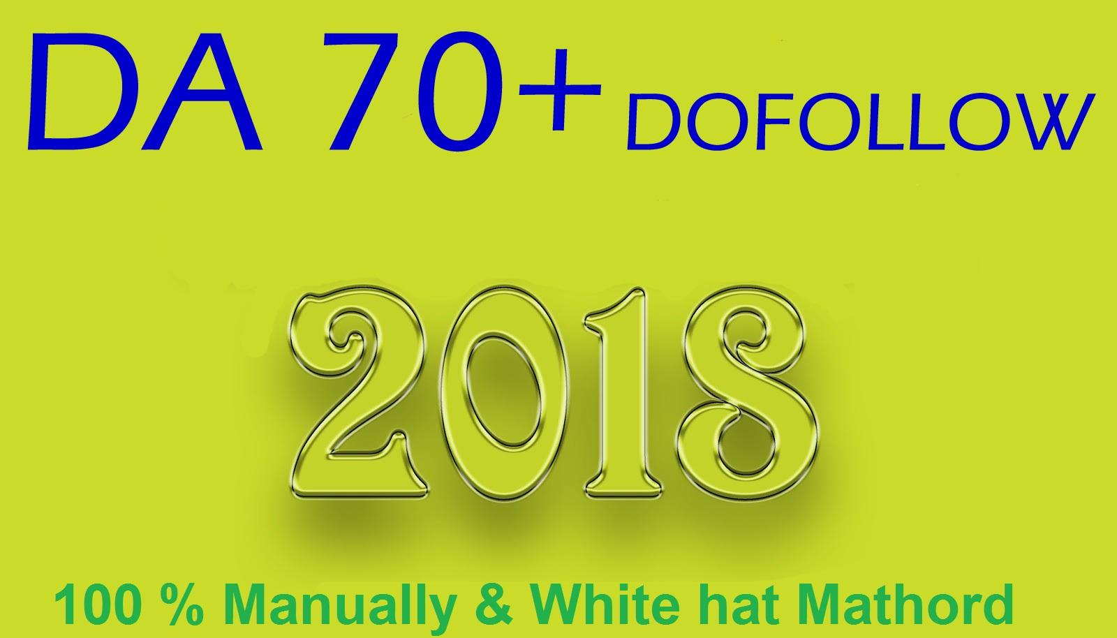 30 Unique Pr9 Da 70+ Dofollow Backlinks SEO Service