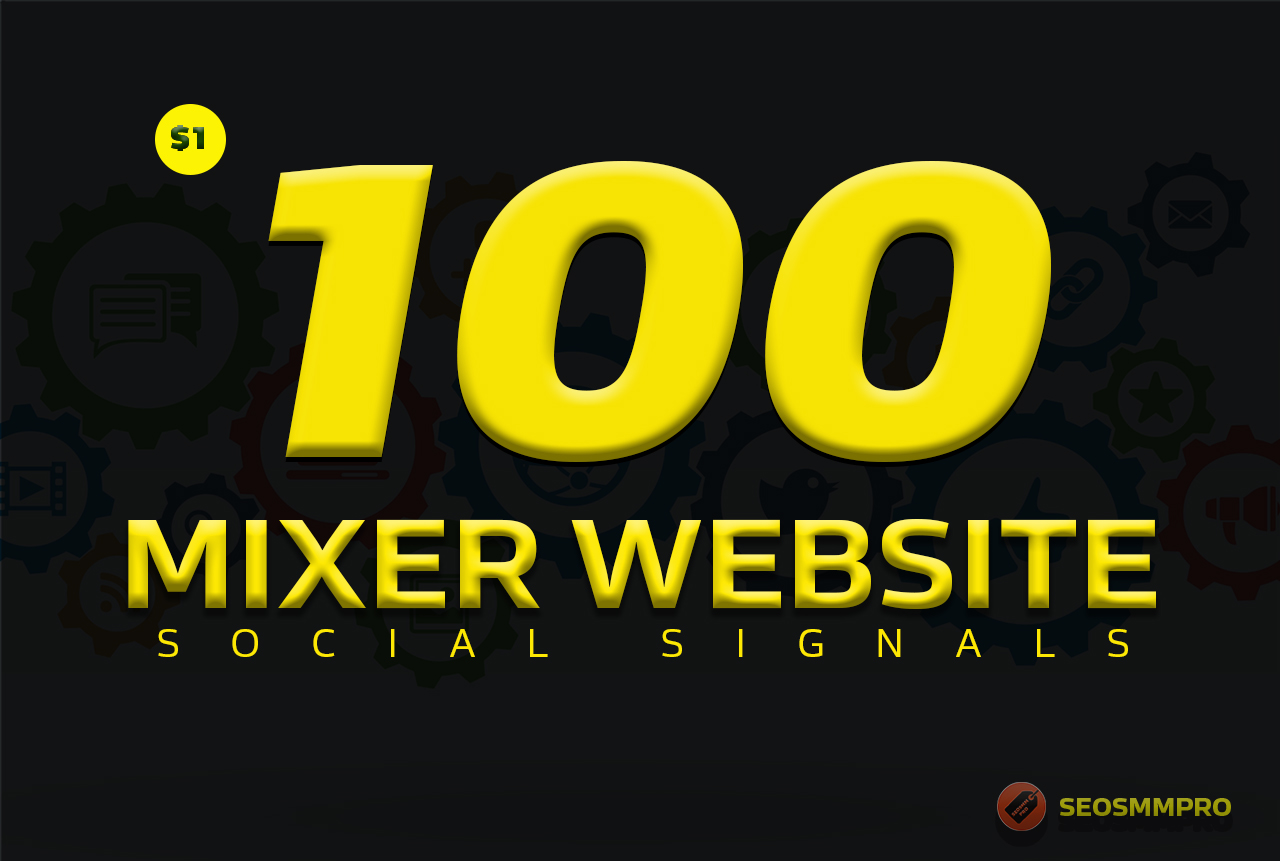 Do 100+ Custom Social Signals SEO Backlinks For Buyers/Clients Websites