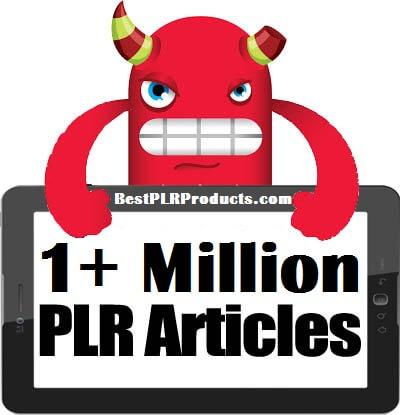 SUPER MONSTER 1+ MILLION PLR ARTICLES PACKAGE