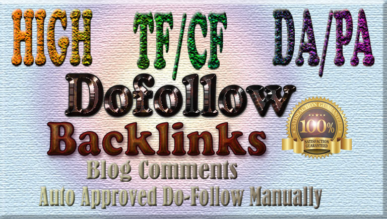 40 DA20+ TF5+ Dofollow comments backlinks
