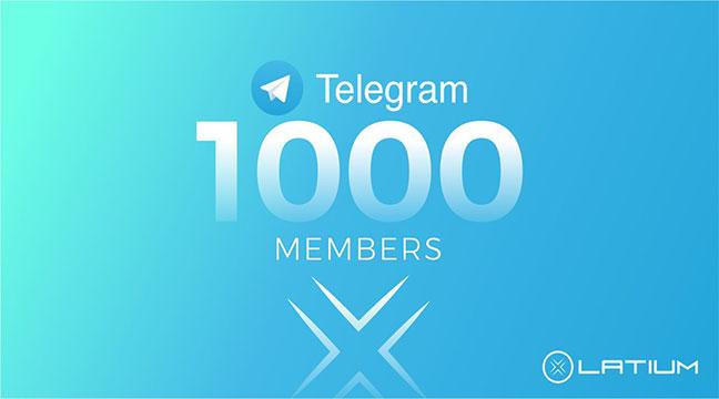 Real & Active 750+ Telegram Channel Membr or 500+ Gr0up Membr