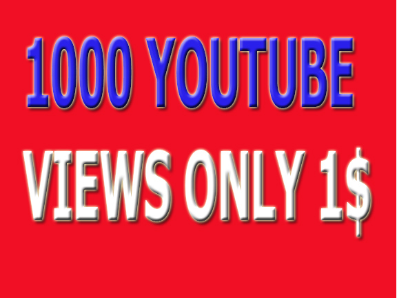 stant 1,000 High Quality View's on your video