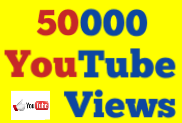 50K Or 50,000+Youtube High Retentions Youtube V iews 12/196 Hours Super Speed