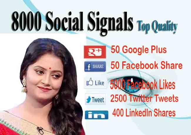 Drip-Feed 5000 Social Signals To Website Improving for 15 days