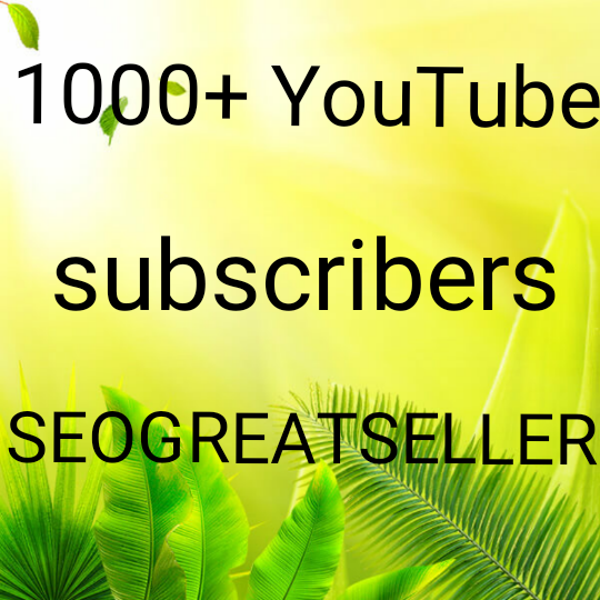 Guaranteed 1000 + YouTube subscribe life time granted+30 custom community completed 24 -48 hours