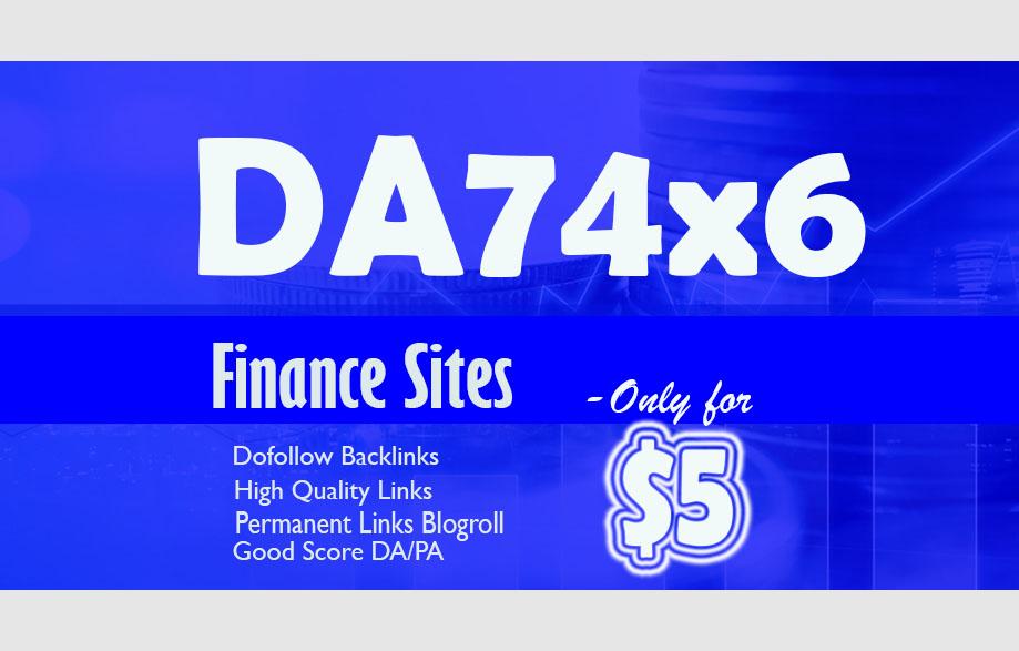 Give Link DA74x6 Finance Site Blogroll Permanent