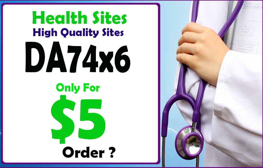 Give U Blogroll Links DA74x6 Business HEALTH