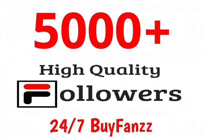 Add Fast 5000+ HIGH QUALITY Profile Followers