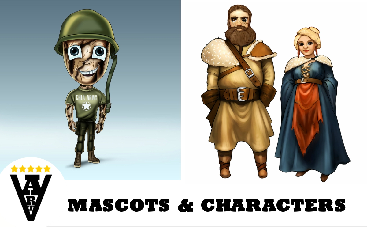 Mascots and Characters