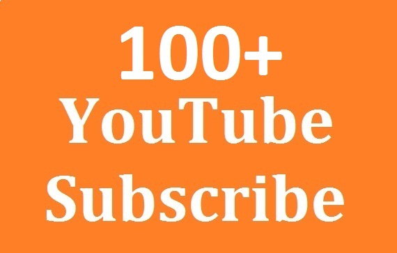 Super Offer 100+ Youtube Subs'criber Real And Non Drop Refill guaranteed And Very Fast Delivery Just