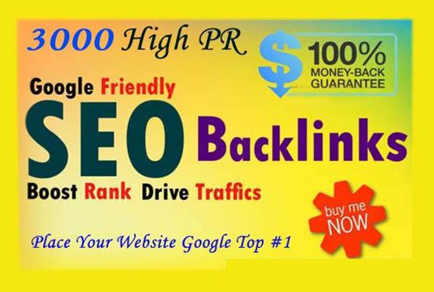 do 3000 Do-follow High PR4-PR7 Backlinks