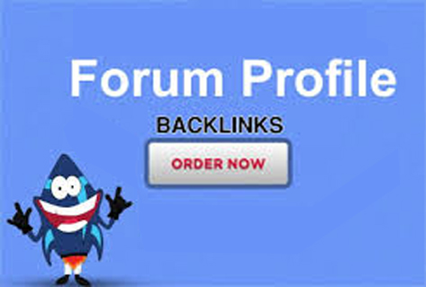 I will do 3500 forum profiles backlinks