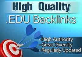 do manually 100 EDU GOV backlinks from top universities list