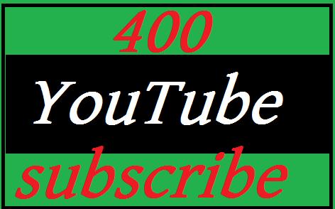 New offer 400 Yo u-T ub e subscribers manhole