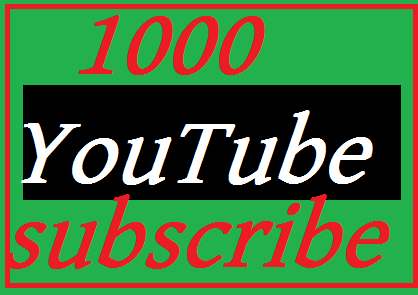 New offer 1100 REAL YouTube Subscribers nondrop Lifetime guarantee fast delivery