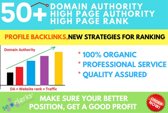 I can Create 30 High DA profile backlinks for your website's ranking