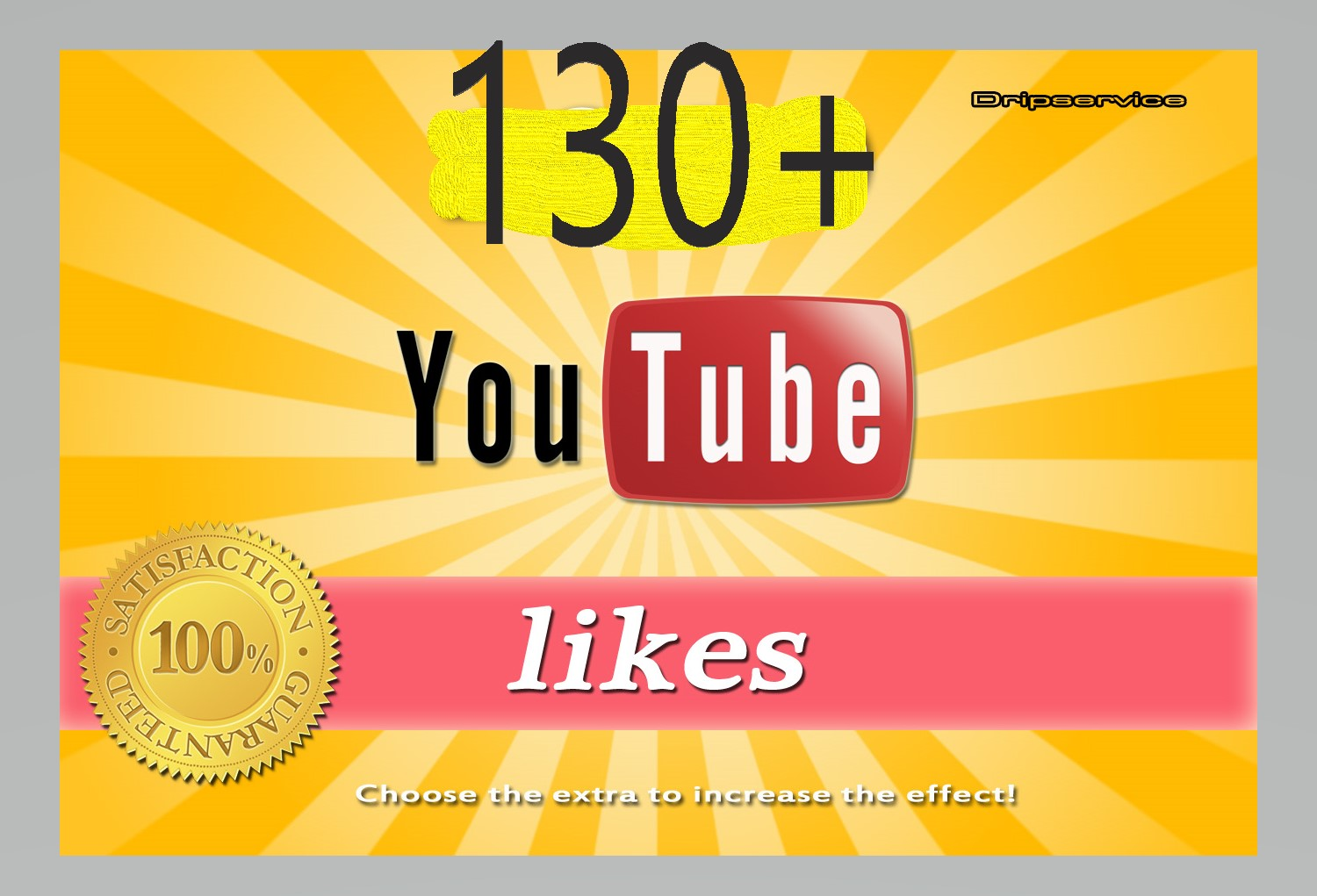 100+ YouTube Video Likes Lifetime Guaranteed Just 7-12 Hours Complete Or 230+ YouTube Subscribers Non drop  Manually Giveaway