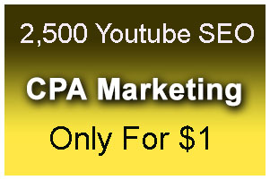 CPA Marketing youtube seo best package 2,500 social signals Only