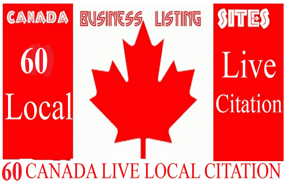 Create 40 Live Local Citation For Canada