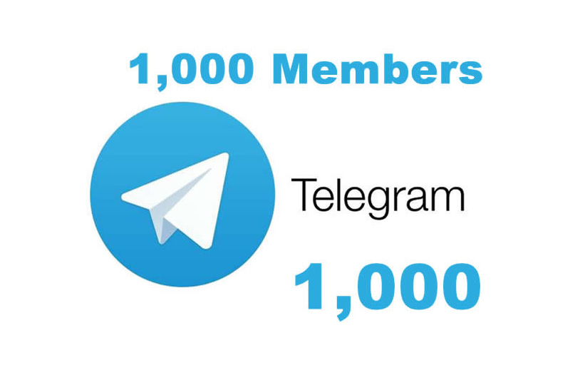 Cheapest and fastest 1k telegram channel and group members